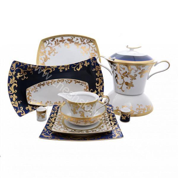 Купить столовый сервиз на 6 персон 27 предметов tosca blueshade gold цена 82 740 р, фото — в интернет-магазине с доставкой от производителя